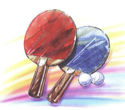 Symbol-Tischtennis